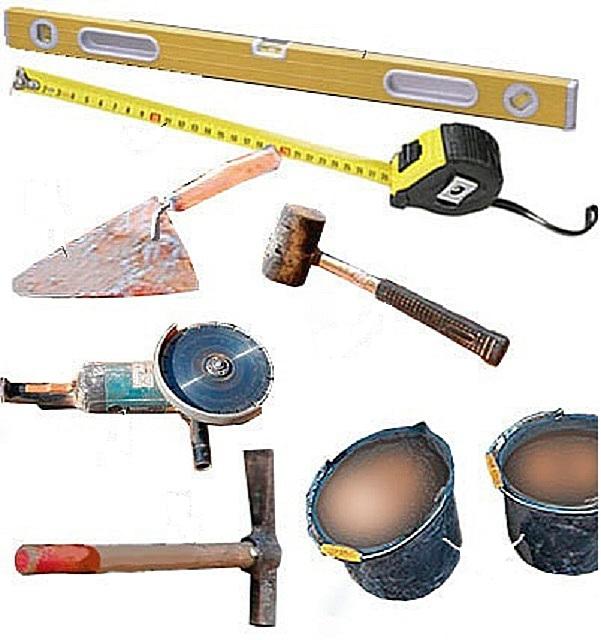 инструменты для кладки
