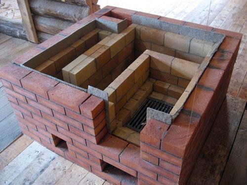 Горячая вода в бане от печки схема
