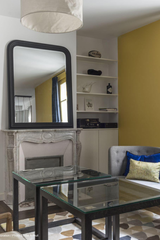 Idée De Cheminée Moderne la conception du salon avec cheminée électrique. salon avec